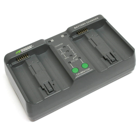 Wasabi Power Dual Battery Charger for Nikon MH-26, MH-26aAK, EN-EL18, EN-EL18a, EN-EL18b