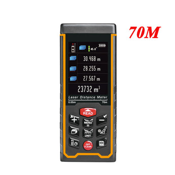 SNDWAY SW-S70 70m Meters Laser Distance Meter Color display high-precision Laser Rangefinder