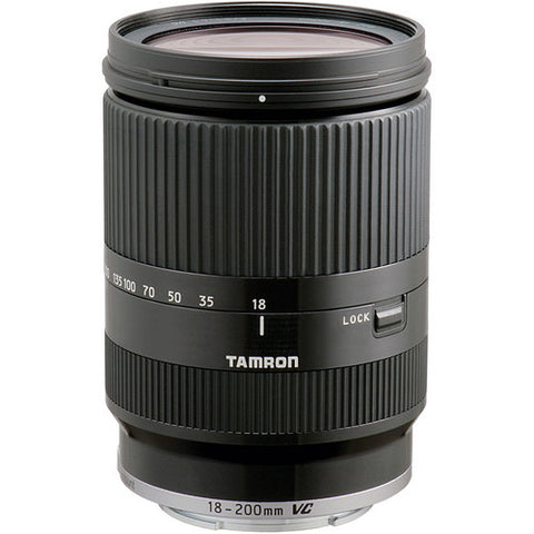 Tamron B011SE18-200mm F/3.5-6.3 Di III VC Lens for Sony E Mount Cameras (Black)