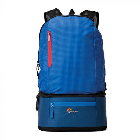 Lowepro Passport Duo Backpack Camera Bag (Blue)