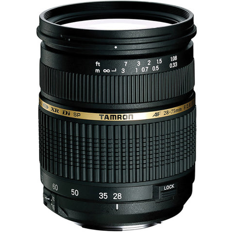 Tamron A09 SP 28-75mm f/2.8 XR Di LD Aspherical (IF) Autofocus Lens for Canon SLR