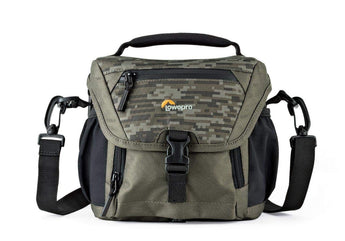 Lowepro Nova 140 AW II Camera Shoulder Bag Mica / Pixel Camo