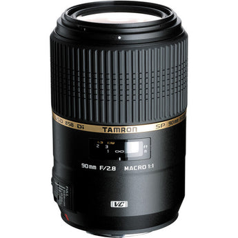 Tamron F004 AF SP 90mm f/2.8 Di VC USD 1:1 Macro Prime Lens for Sony