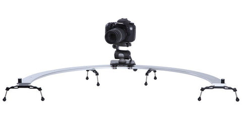 Sevenoak SK-CS02 Pro DSLR Camera 1/2 Circle Slider Dolly Track Video Stabilizer