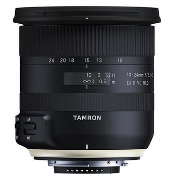 Tamron B023 10-24mm f/3.5-4.5 Di II VC HLD Wide Angle Lens for Nikon F