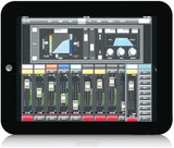 Midas MR12 12-Input Digital Mixer for iPad/Android Tablets with Wi-Fi and USB Recorder