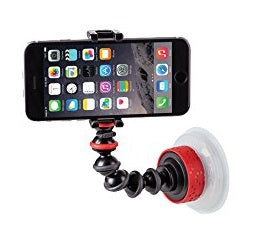 JOBY 1378 GripTight Suction Cup & GorillaPod Arm for iPhone 4s/5/5c/5s/6