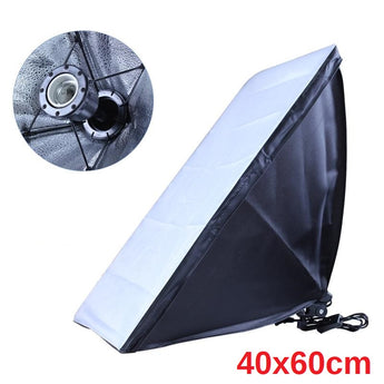 Pxel SB-1B-40X60 1 bulb light head,Softbox Continuous lighting Digital light with 1 bulb