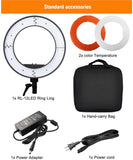 PXEL RL-12 LED 12 Inch Ring Light LED with Orange Diffuser for Beauty Makeup, Vlogging, Youtuber etc