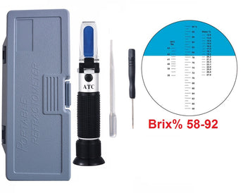 Honey Brix Refractometer 58-92%