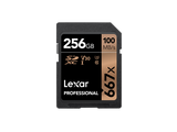 Lexar LSD256B667 Professional 667x UHS-I SDXC 256GB Memory Card for PC's, Laptops