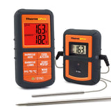 ThermoPro TP08S Wireless Remote Digital Cooking Meat Thermometer Dual Probe for Grilling Smoker BBQ Food Thermometer - Monitors Food from 300 Feet Away