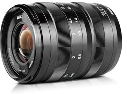 Meike 25MM F/2.0 Low Distortion Large Aperture Manual Focus Lens EF-M Mount Mirrorless Canon
