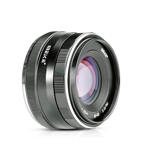 Meike MK-50mm 50mm f 2.0 Large Aperture Manual Focus Lens APS-C For 4/3 System Mirrorless Cameras Olympus/Panasonic/Lumix Mirrorless Camera