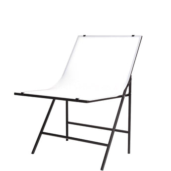 Pxel ST-6X10 Portable Shooting Table Studio Photography 60 X 100CM White Background Backdrop