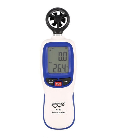 Wintact WT82 Digital Anemometer Wind Speed Velocity Meter Tester