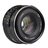 Meike MK-50mm F2.0 Large Aperture Manual Focus Lens for Sony E Mount Camera NEX3/3N/5/5T/5R/6/7/9/A5000/A5100/A6000/A6100/A6300