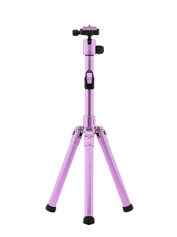 MeFOTO BackPacker Air Tripod and Selfie Stick in One Kit Purple