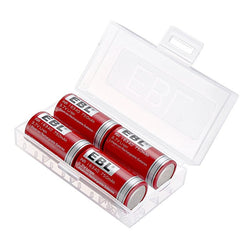 EBL 16340 RCR123A Li-ion Battery 750 mAh, 3.7V, 4pcs/set