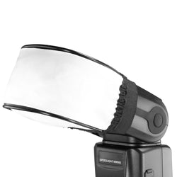 Pxel AA-FD1 Universal Soft Mini Flash Bounce Diffuser Cap for On Camera or Off Camera Flash Gun