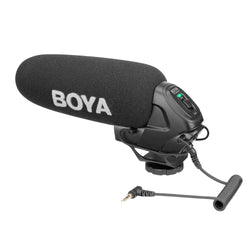Boya BY-BM3030 On-Camera Super Cardioid Shotgun Microphone for Camera