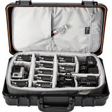 Lowepro Hardside 400 Photo Waterproof Hard Case with Removable Backpack (Black)