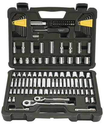 Stanley STMT71652 123-Piece Socket Wrench Tool Set Kit