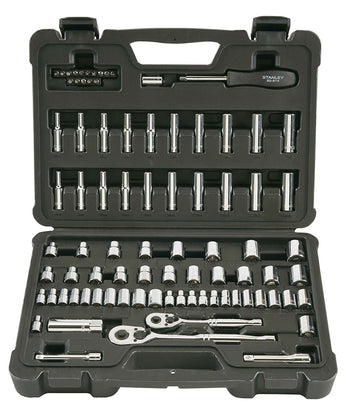 Stanley STMT71651 85-Piece Socket Wrench Tool Set Kit
