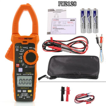 Peakmeter PM2128 Digital AC / DC Clamp Meter 1000V Multimeter
