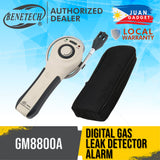 Benetech GM8800A Digital Gas Leak Detector High Sensitive Gas Analyzer Meter with Buzzer Alarm Function