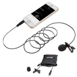 BOYA BY-LM10 Smartphone Omnidirectional Lavalier Microphone for iPhone and Android Smartphones