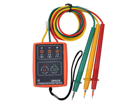 3 Phase Rotation Indicator with Buzzer Checker