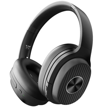 EKSA E5 Bluetooth 5.0 Headphones Active Noise Cancelling 920mAH Wireless Headset With Mic For Phones Foldable Over-Ear