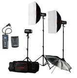Godox H160-B 160 Lighting Mini Pioneer Studio Flash Strobe 160W Studio Flash Kit Video Photo Studio lighting kit Flash Kit