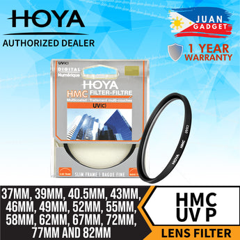 Hoya UV Ultraviolet Multi-Coated Filter Digital HMC 37mm for Camera Lens