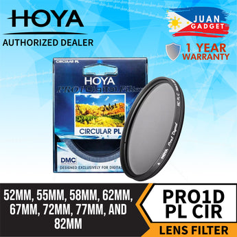 Hoya Pro1D Circular Polarizing CIR-PL Digital Multi-Coated Filter for Camera Lens