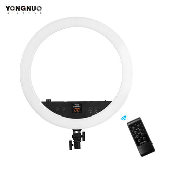 Yongnuo LED Right Light YN808 3200K-5500K Bi-color 800pcs Lamp Beads LED Video Light for Camcorder with Touch Button Function