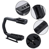 Sevenoak MicRig Handle Grip Built-in Stereo Microphone DSLRs Camcorders Action Cameras Smartphones