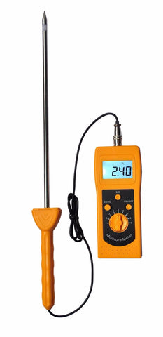 DM400 High Frequency Moisture Meter for soil, silver sand, chemical combination powder, coal powder and other powder material