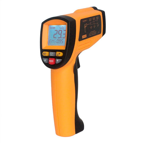 Benetech GM1150 Non Contact Thermometer Laser Temperature Gun Infrared Thermometer -50° to 1150° Celsius
