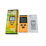 Benetech GM630 Inductive Wood Moisture Tester Digital LCD Display Induction Timber Moisture Temperature Tester