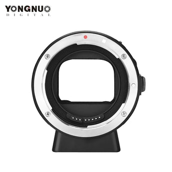 Yongnuo Smart Adapter EF-E Mount for Canon EF Lens to Sony NEX Smart Adapter Mark II (Black) EF to E-Mount
