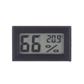 LCD Digital Thermometer Temperature Hygrometer Humidity Meter WITHOUT Probe