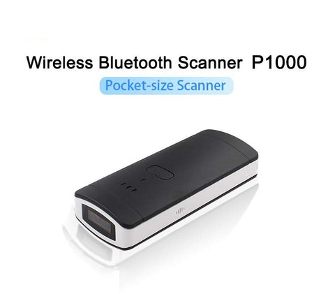 Logicscan Yk P1000 Mini Mobile Or Pc 1d Bluetooth Pocket Barcode