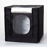 Pxel LB80LED 80cm x 80cm Studio Soft Box LED Light Tent with Backdrop and Bag