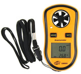 Benetech GM8908 Digital Wind Speed Anemometer with Wind Chill Temperature Thermometer Function