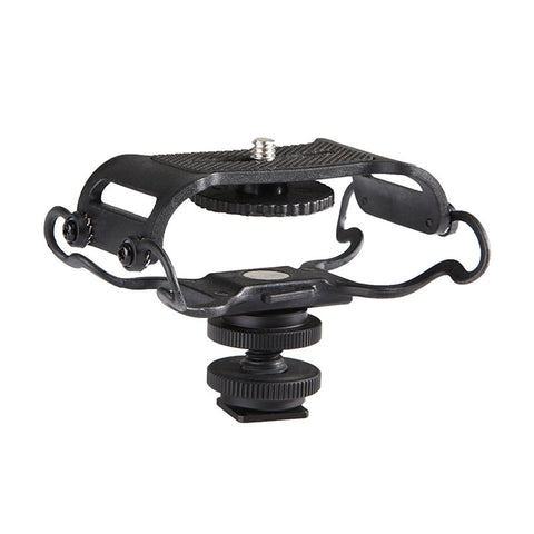 Boya BY-C10 Microphone Shock mount for Zoom H4n/H5/H6 for Sony Tascam DR-40  DR-05 Recorders Microphone Shockmount Olympus Tascam Etc