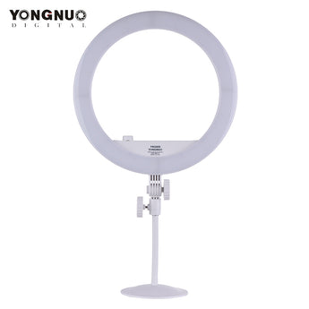 Yongnuo YN208S Ring Light Bi Color LED 3200k-5500k with Stand