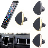 Car Aircon Vent Mount 360 Phone Holder Universal Hands Free Magnetic (Triangle)