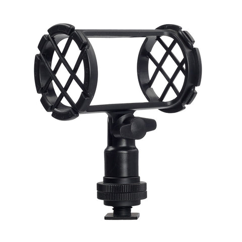 Boya BY-C04 Camera Video Shock Mount for RODE NT4 BOYA BY-PM1000 Shotgun Microphones 19-25mm in Diameter
